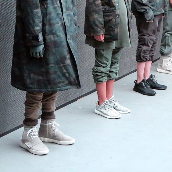 """""""A closer look at the Yeezy Boost. Thoughts? Get a full look at the Adidas Kanye West event on sneakernews.com"""""""