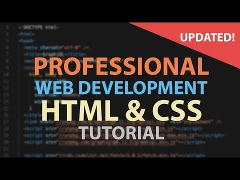 Html Css Tutorial For Beginners Web Development Tutorials For Beginners Youtube Web Development Tutorial Css Tutorial Learn Web Development