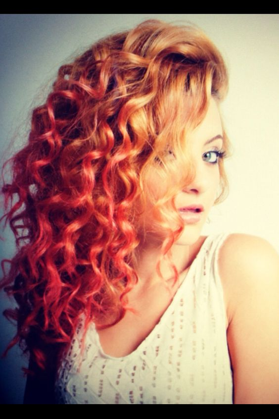 Amazing Hairstyles On Pinterest Long Curly Hair Curly Hair And Blonde Hairstyles For Women Draintrainus