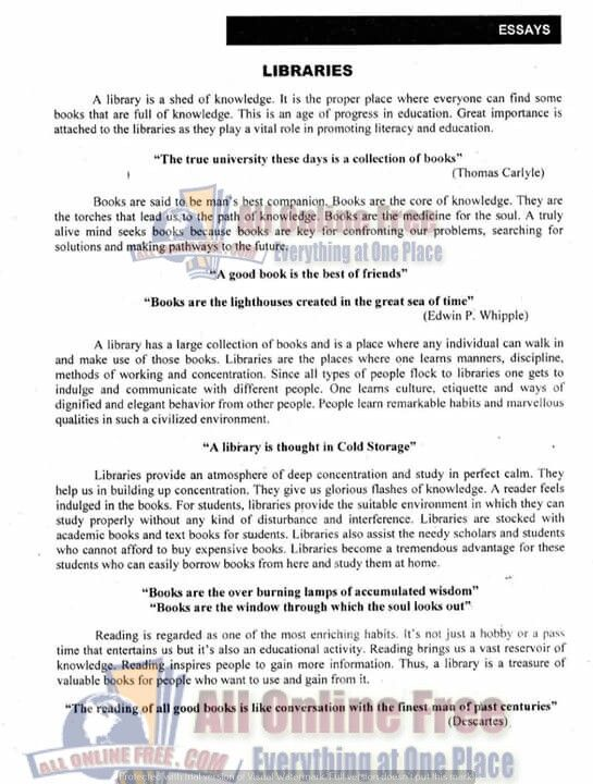 Health And Fitness Essays  The Lion The Witch And The Wardrobe Essay also Peace Corps Essays Pin By Afia On Study  Essay On Education Essay On Library  Self Respect Essays