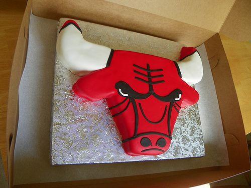 chicago bulls cake - Google Search