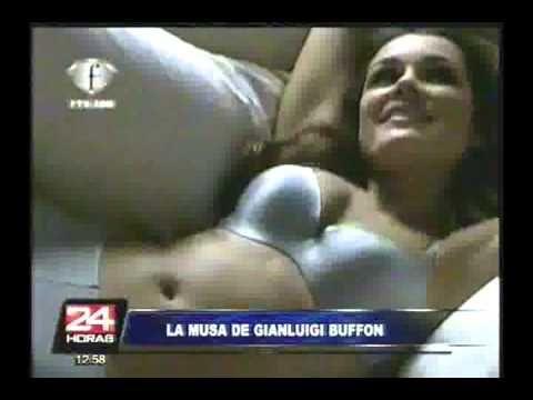 Impactantes imágenes de la esposa del portero italiano Gianluigi Buffon