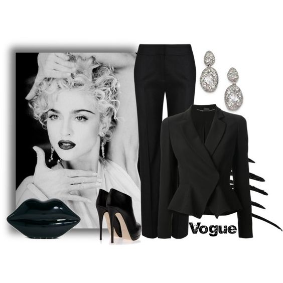 """""""Vogue by Madonna"""" by melissa-chung-pnklmnade on Polyvore"""