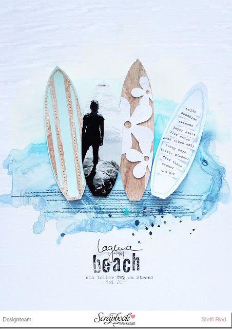 Laguna Beach - Layout - Scrap Sweet Scrap