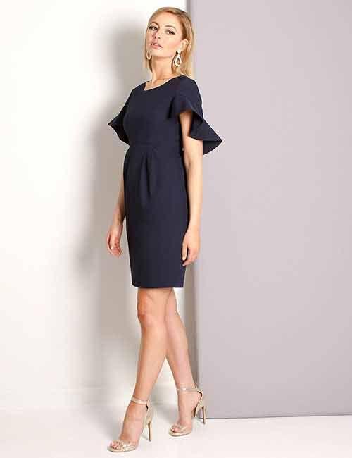 Navy Blue Dress | Navy dress outfits