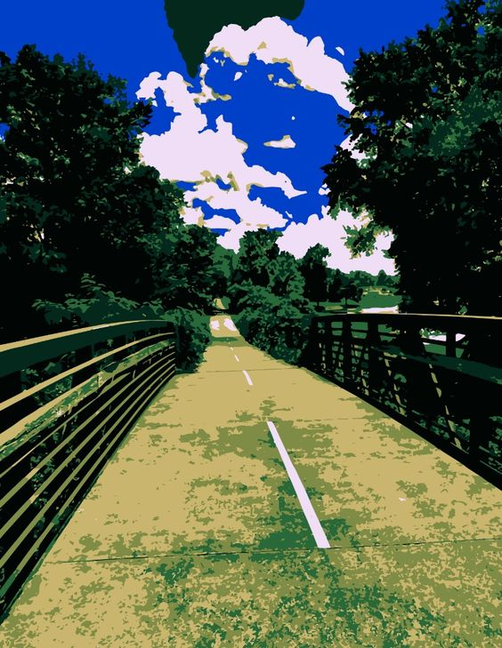 Download Free Photo - On a Silver Comet Bridge - Bike Trail Free and Public Domain Stock Photo Download