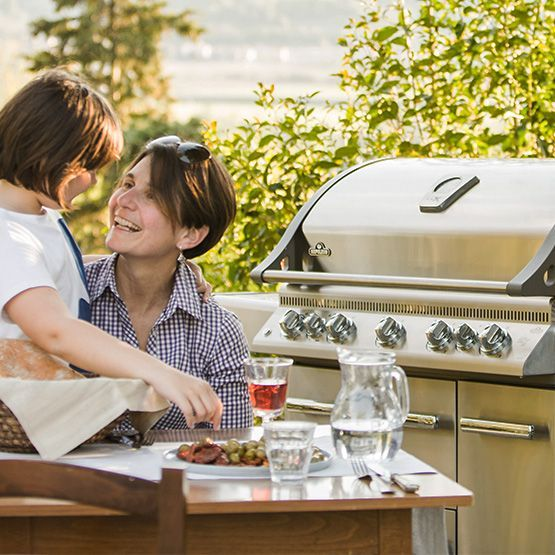 You Will Never Want To Cook Indoors Again Once You Get The Napoleon Lex730rsbi Gas Grill The Lex730rsbi Is An Entire Outdoo In 2020 Gas Grill Outdoor Cooking Grilling