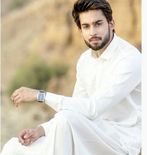 White EdenRobe Kurta for Men