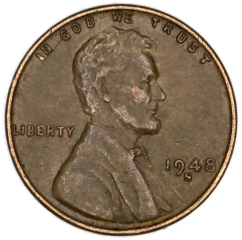 The 1948 Penny Value Ranges From 3 Cents To Over 10 000 See What Your 1948 Wheat Penny Is Worth Wheat Penny Value Penny Values Rare Coins Worth Money
