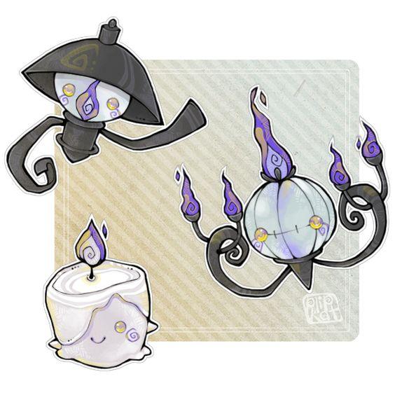 110320. chandelure by Plipkat.deviantart.com on @deviantART