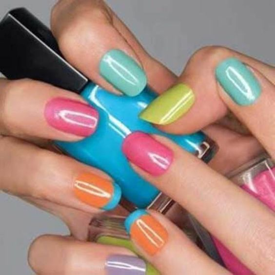 18 New Nail Ideas for Spring | Best Nail Polish ... - Glamour