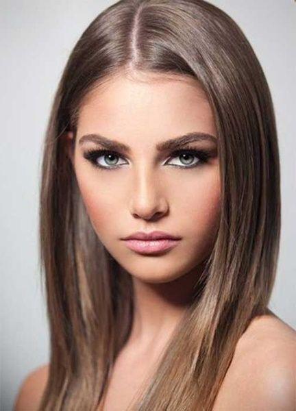 Attraktiver blonde haare oder braune Blondinen oder