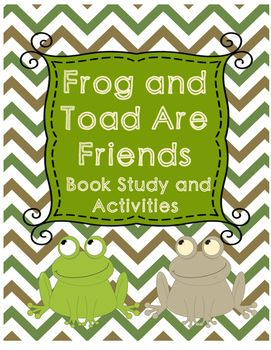 Frog and Toad Are Friends - The Story