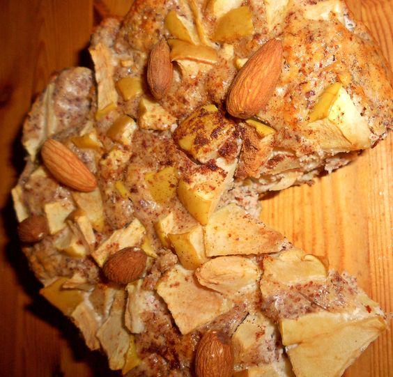 Low Carb Apfelkuchen