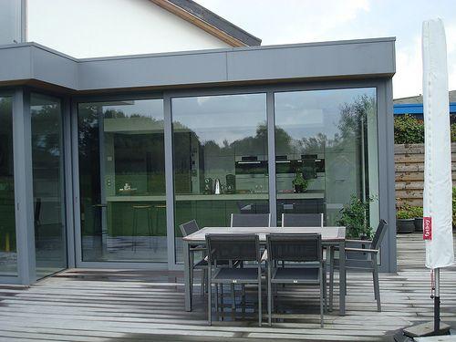 moderne uitbouw aluminium veranda modern flickr photo sharing veranda pinterest. Black Bedroom Furniture Sets. Home Design Ideas