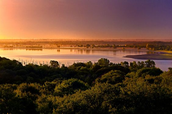 Benbrook lake tx at sunrise by dfikar1 via flickr for Benbrook lake fishing