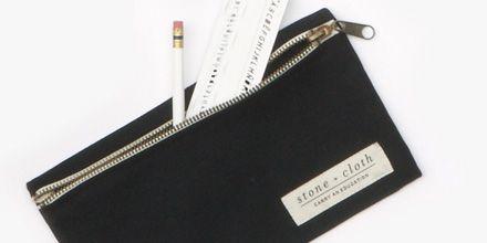 Stone + Cloth pencil pouch #TOMSMarketplace