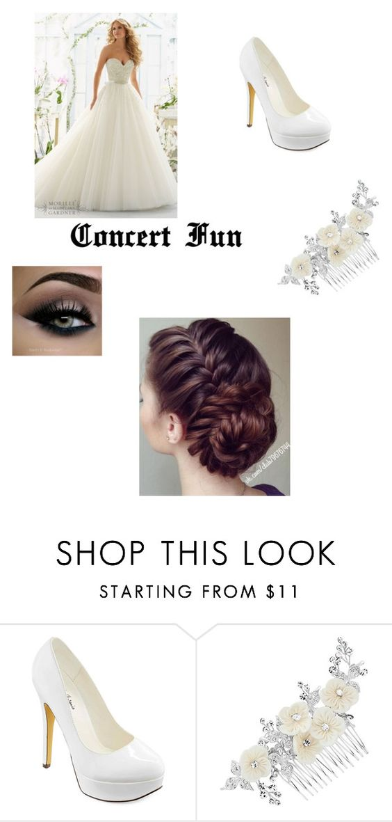"""""""my fucher weding"""" by angel-oasis on Polyvore featuring beauty, Michael Antonio and Alan Hannah"""