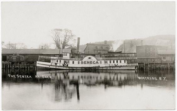 Watkins Glen, Seneca Lake and steamboat