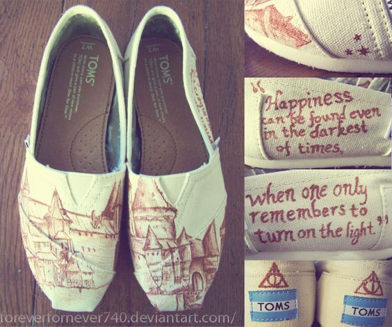 Harry Potter TOMS. I want