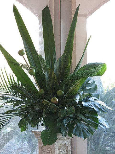 Large floral arrangements for church arrangement