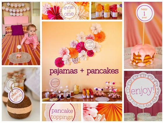 Pajamas & Pancakes Party.