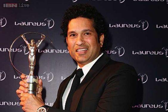 Sachin Tendulkar inducted into Laureus Sports Academy. 4/15/15
