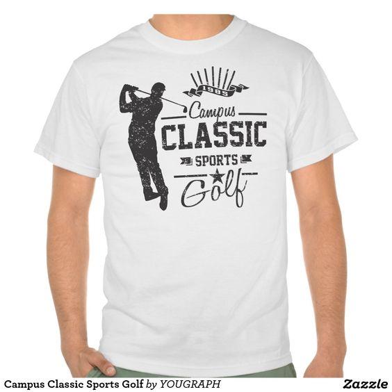 Campus Classic Sports Golf Tee Shirt