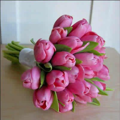 Ramo de tulipanes, preciosos!