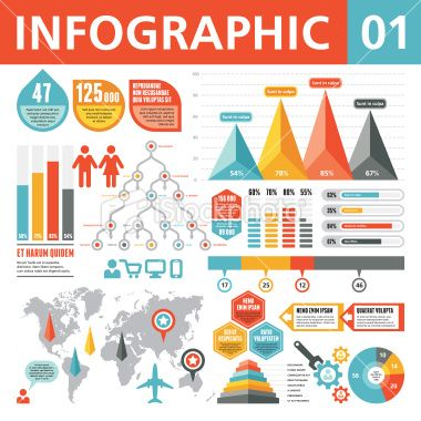 Infographic Ideas infographic creator free : Infographic Elements 01 Royalty Free Stock Vector Art Illustration ...