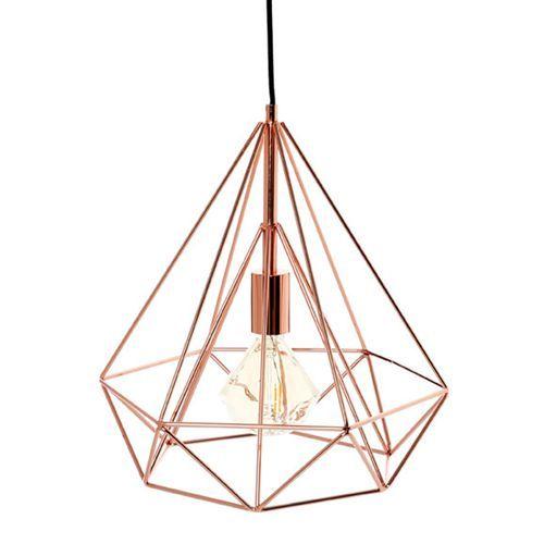 Suspensao Petra Cobre Leroy Merlin Living Room Lighting Room Lights Rose Gold Decor