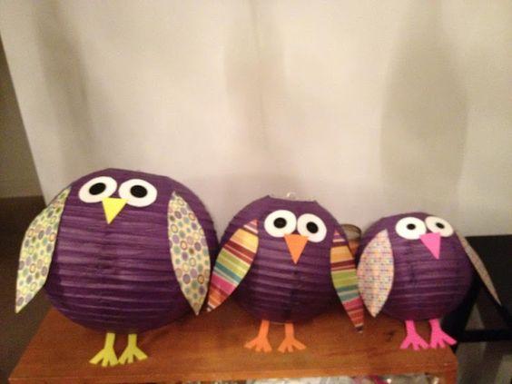 Lantern owls