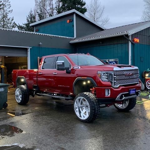Ryanr206 With His Lifted 2020 Chevy Silverado Hd High Country