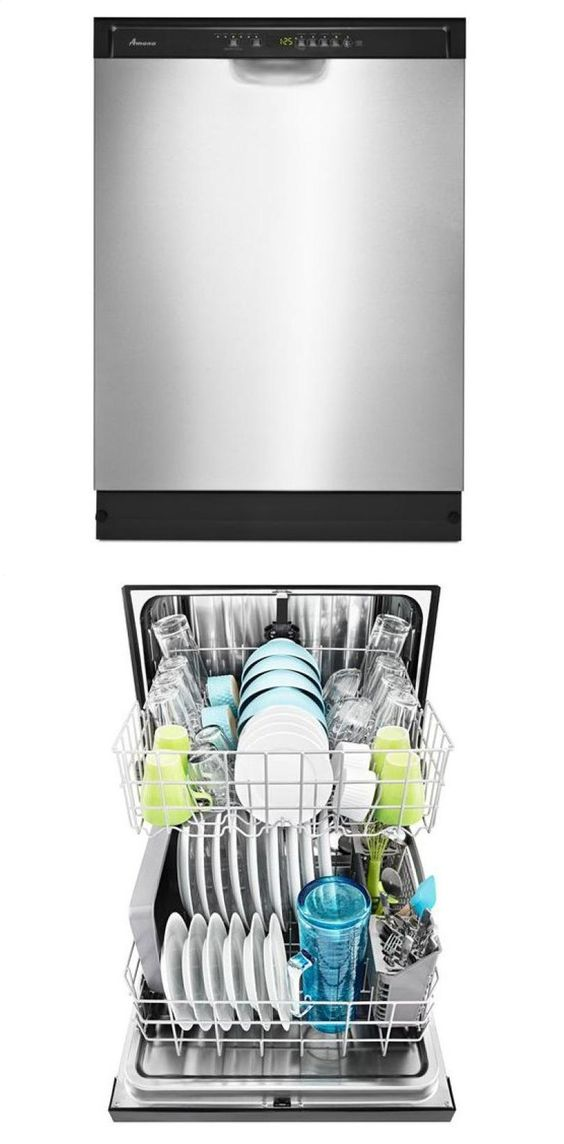 Amana® Dishwasher with Stainless Steel Interior - stainless steel Model # ADB1700ADS