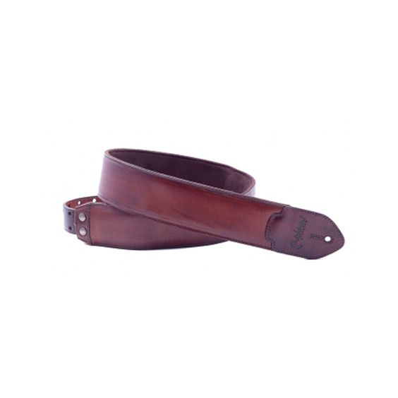 Right On Leathercraft Series Vintage Brown Guitar Strap