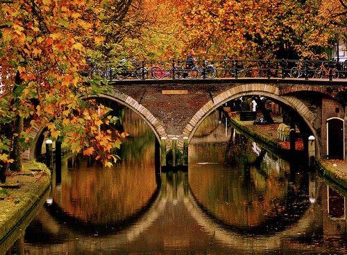 .: Fall Bridge, Beautiful Autumn, Favorite Time, Fall Colors, Autumn Fall, Bridge Reflection