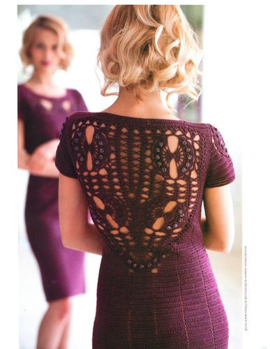 Interesting knitted dress!