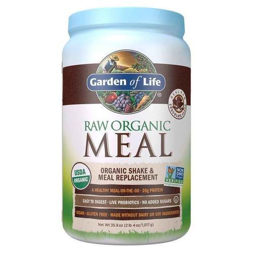 Garden Of Life Raw Meal Chocolate Cacao 35 9 Oz Plant Based