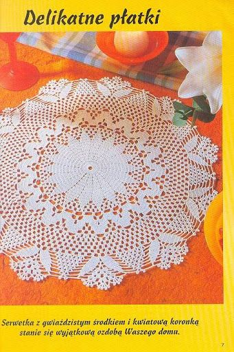 vários modelos - crochet مفارش طاولات صغيره ووسط - mumy50 - Álbuns da web do Picasa