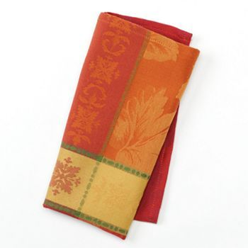 Croft and Barrow Seasonal Splendor Napkin at Kohl's