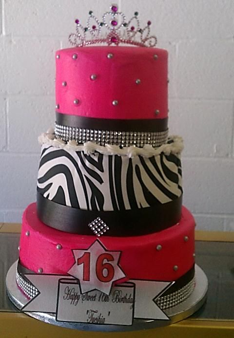 Sweet 16 Cakes 16th Birthday Sweet Cake For A Girl Cakes