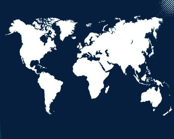 Mapa De Branco Mapa Clipart Mapa Do Mundo Mapa Do Vetor Imagem Png E Psd Para Download Gratuito Travel Diary Diy Book Cover Diy Earth Map