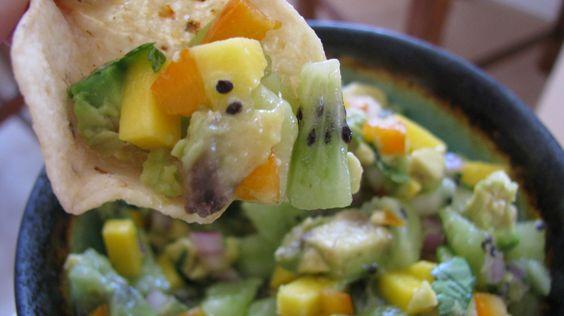 Kiwi Mango Salsa