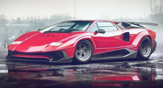 Car Porn: 1986 Lamborghini Countach 5000 Quattrovalvole | Lamborghini And  Cars