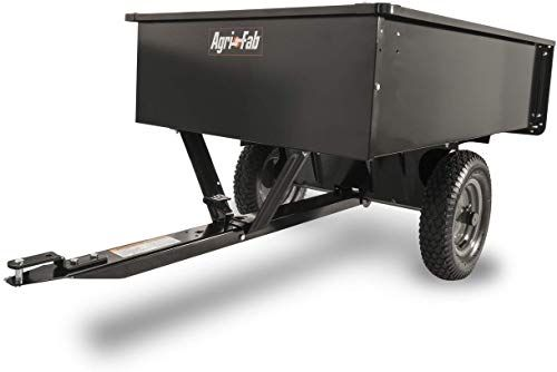 New Agri Fab 45 0101 750 Pound Max Utility Tow Behind Dump Cart Black Lawn Garden 177 04 Topgetitnow In 2020 Dump Cart Lawn And Garden Steel Bed