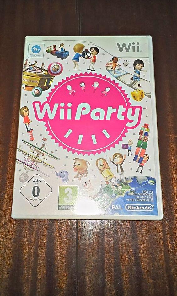 Wii party incl. 80 mini juegos completo para Nintendo☺