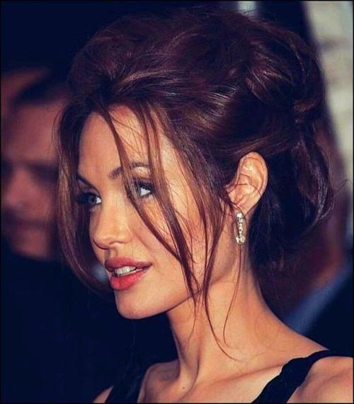 Christmas Eyeshadow Looks Angelina Jolie Hair Styles Beauty