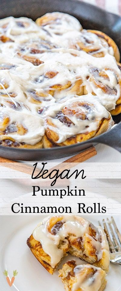 The Perfect Fall Comfort Food Easy And Homemade Vegan Pumpkin Cinnamon Rolls Dairy Free And Egg Fre Vegan Pumpkin Pumpkin Cinnamon Rolls Vegan Cinnamon Rolls
