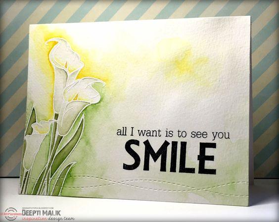 Smile card by Deepti Malik