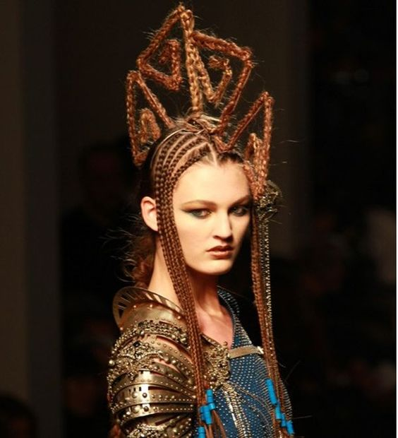 Terrific Crazy Runway Hair Style Crazy Get Free Printable Hairstyle Pictures Hairstyle Inspiration Daily Dogsangcom